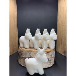 Pack de 5 savons en forme d'âne au lait d'ânesse bio