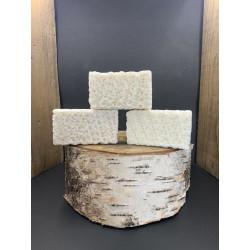 Pack de 3 savons exfoliant au lait d'anessse frais, ble, avoine et son